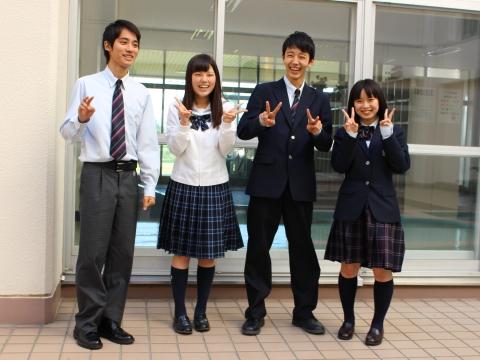 札幌英藍高等学校制服画像